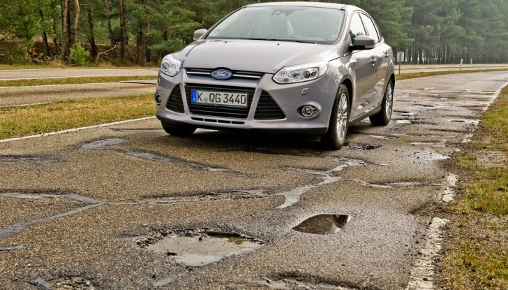 Centro Prove Ford di Lommel, la strada più accidentata del mondo! - Foto 10 di 11