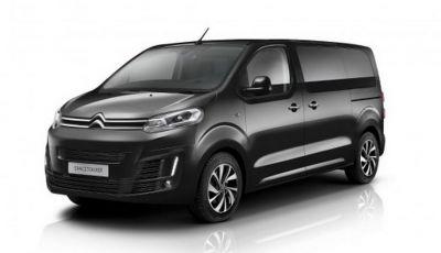 Citroën SpaceTourer: tre versioni e un concept