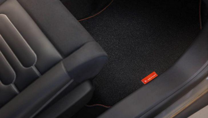 Citroën cactus C4 rip curl dettaglio interno