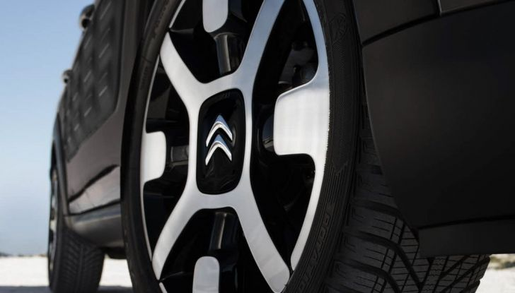 Citroën cactus C4 rip curl cerchione