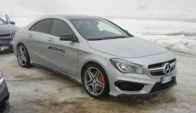 Mercedes Classe C e gamma Mercedes-Benz 4Matic: test drive sulla neve