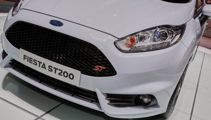 Fiesta ST200, novità in anteprima al salone di Ginevra.