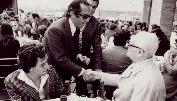 Jack Heuer e Enzo Ferrari
