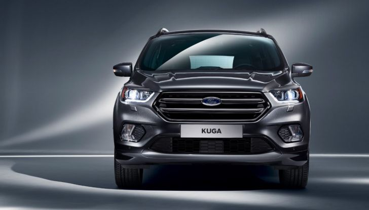 Nuova Ford Kuga, frontale.