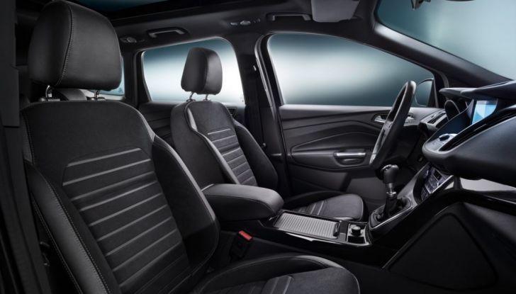 Nuova Ford Kuga, interno anteriore.
