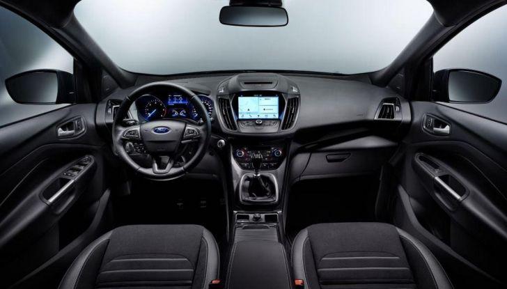 Nuova Ford Kuga, interno.