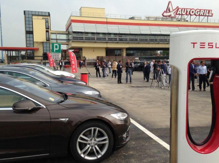 Stazioni Tesla Superchargers: la ricarica è di nuovo gratuita - Foto 4 di 10