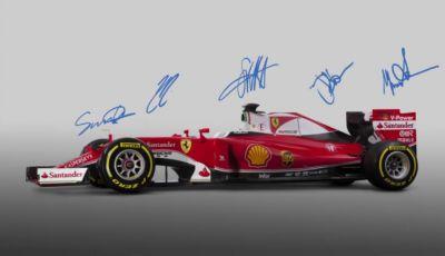 Formula1: Presentazione live della monoposto Ferrari in diretta