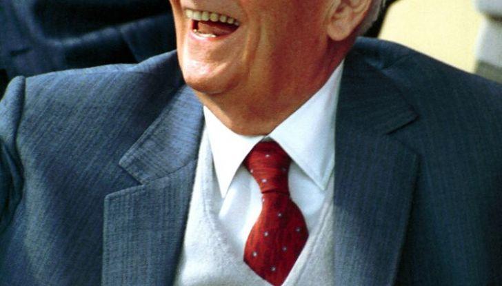 Enzo Ferrari ritratto