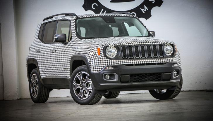 Jeep Renegade Tailormade by Garage Italia Customs per celebrare i 10 anni di Womanity - Foto 1 di 5