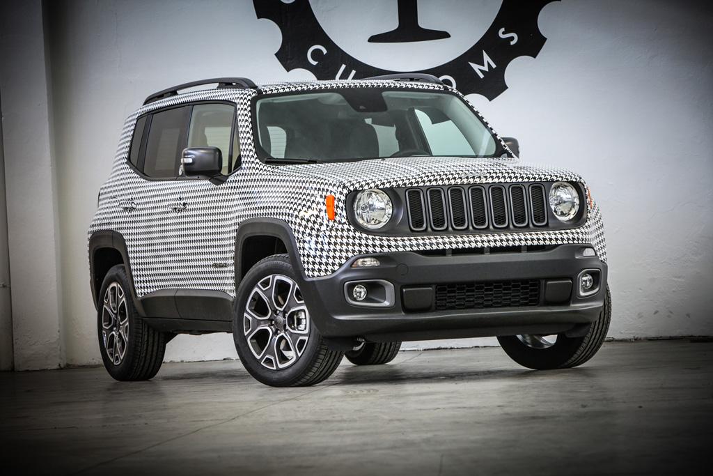 Jeep Renegade Tailormade by Garage Italia Customs per celebrare i 10 anni di Womanity