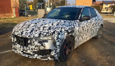 Maserati Levante, le foto spia degli ultimi test su strada
