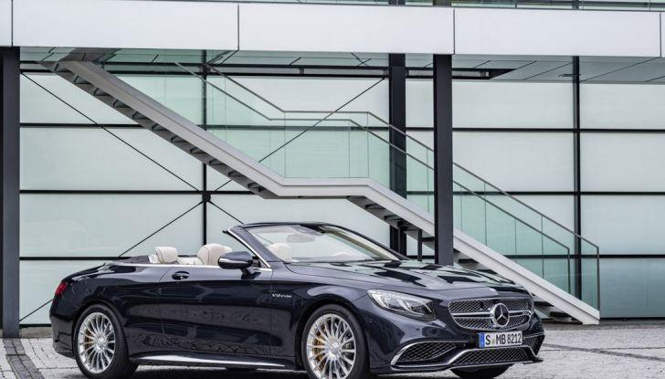 Mercedes-AMG S 65 cabrio al Salone di Ginevra 2016 - Foto 10 di 15