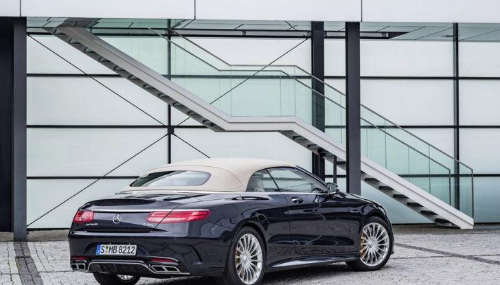 Mercedes-AMG S 65 cabrio al Salone di Ginevra 2016 - Foto 11 di 15