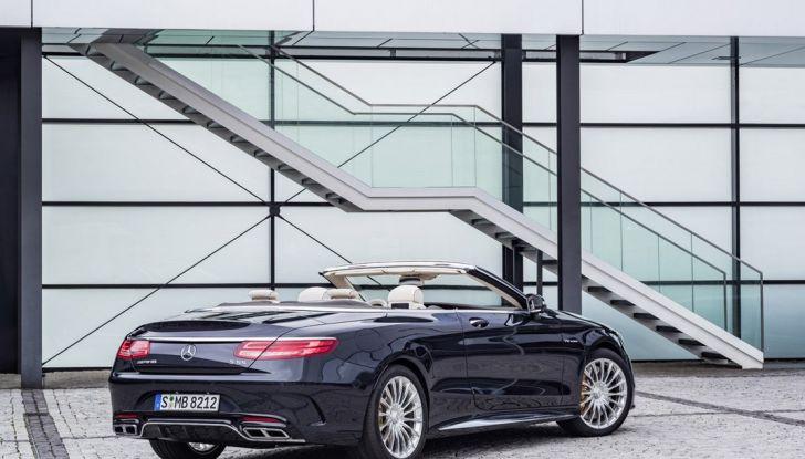 Mercedes-AMG S 65 cabrio al Salone di Ginevra 2016 - Foto 12 di 15