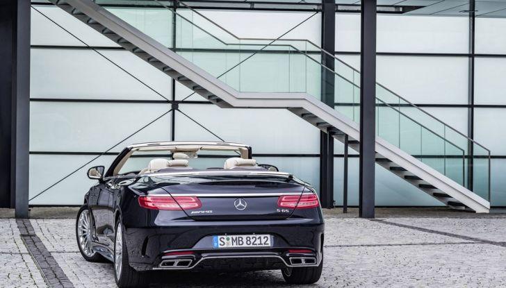 Mercedes-AMG S 65 cabrio al Salone di Ginevra 2016 - Foto 13 di 15