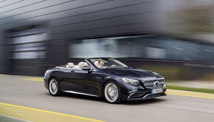 Mercedes-AMG S 65 cabrio al Salone di Ginevra 2016 - Foto 1 di 15