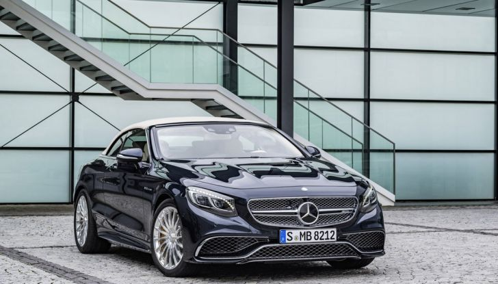 Mercedes-AMG S 65 cabrio al Salone di Ginevra 2016 - Foto 8 di 15