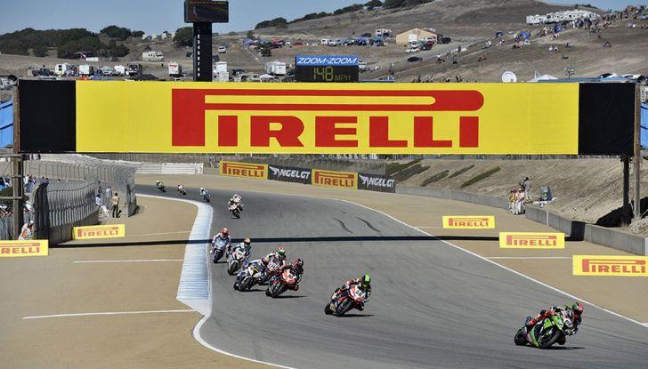 World Superbike: ad Aragón Pirelli presenta il nuovo diablo rosso III - Foto 1 di 8