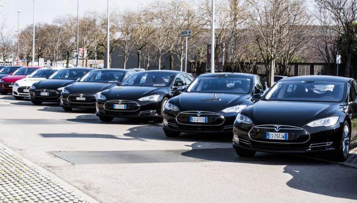Tesla Revolution 2018: le elettriche di Musk riunite a Torino - Foto 8 di 30