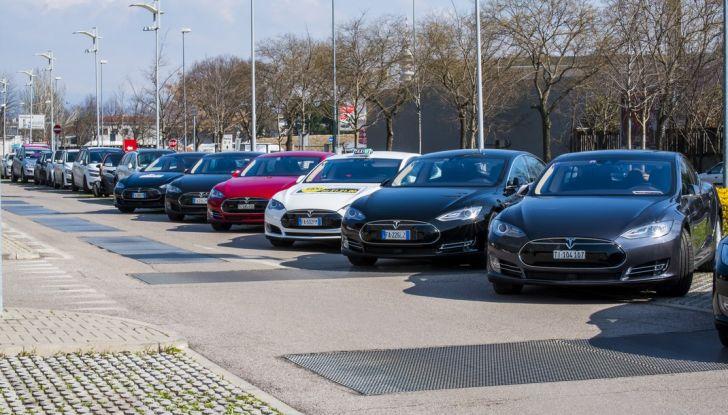 Tesla Revolution 2018: le elettriche di Musk riunite a Torino - Foto 9 di 30