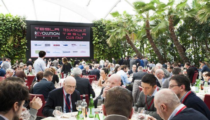 Tesla Revolution 2018: le elettriche di Musk riunite a Torino - Foto 15 di 30