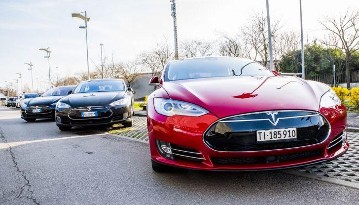 Tesla Revolution 2018: le elettriche di Musk riunite a Torino - Foto 2 di 30