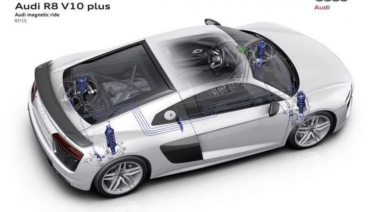 Audi R8 V10 plus magnetic ride