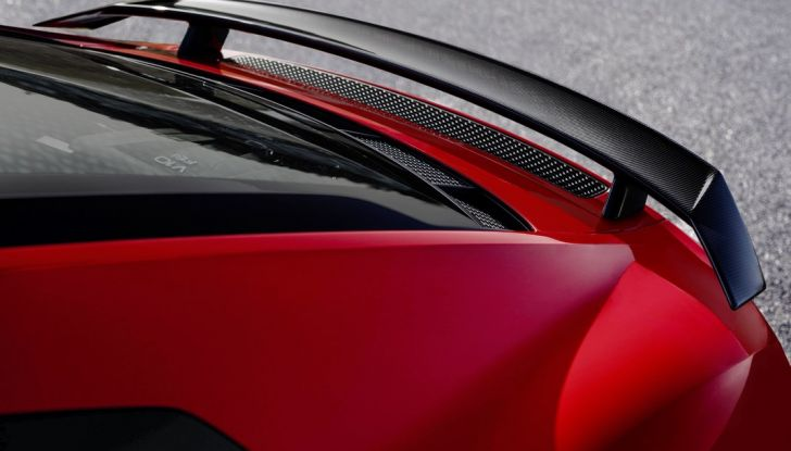 Audi R8 V10 plus spoiler