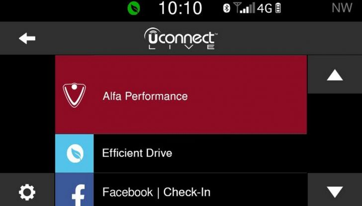 Alfa Romeo nuova Giulietta Uconnect LIVE Alfa prestazioni (1)
