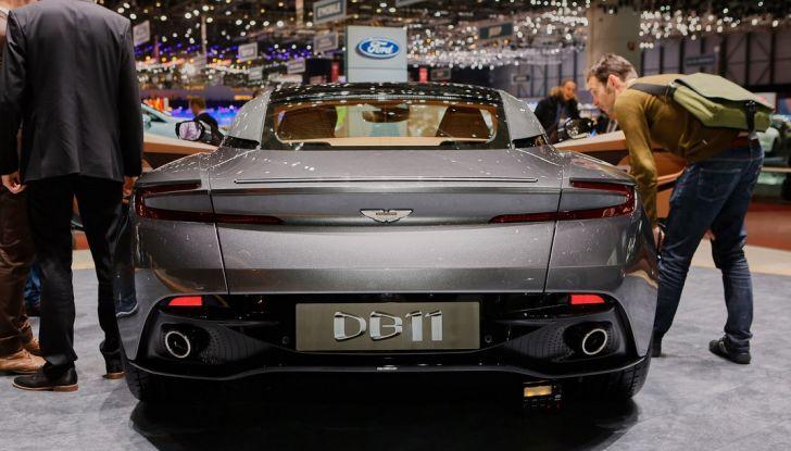 Aston Martin DB11 al Salone di Ginevra - Foto 21 di 30