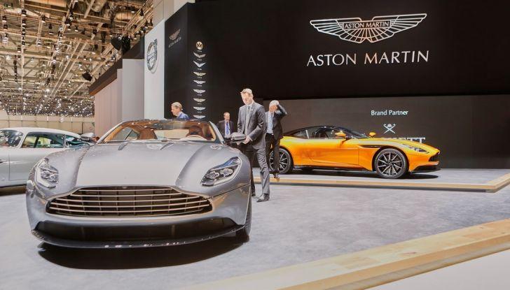 Aston Martin DB11 al Salone di Ginevra - Foto 25 di 30
