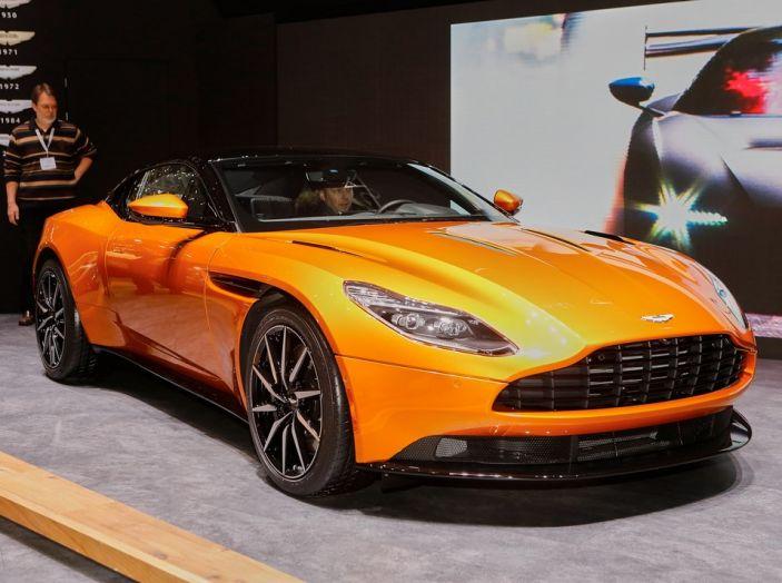 Aston Martin DB11 al Salone di Ginevra