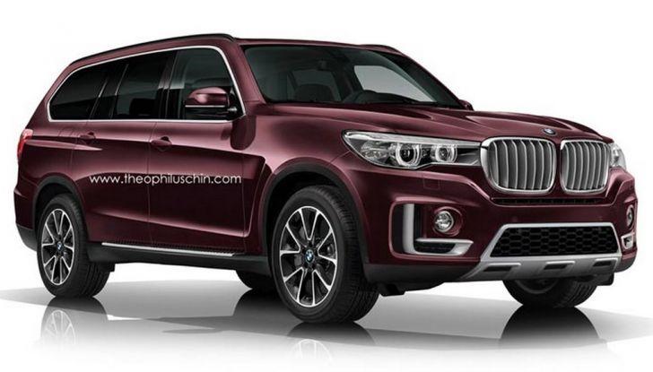 BMW X7, confermata la stessa piattaforma del SUV ROlls-Royce (3)