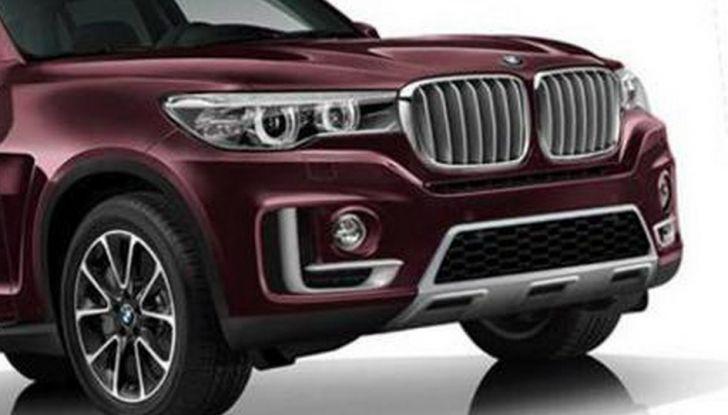 BMW X7, confermata la stessa piattaforma del SUV ROlls-Royce (5)