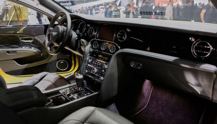 Bentley Mulsanne Speed live ginevra 2016