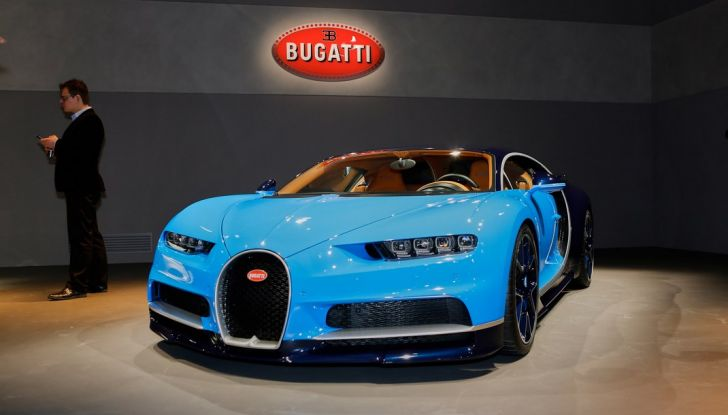 Bugatti Chiron - Foto 17 di 23
