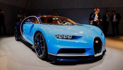 Bugatti Chiron, attesa per il 2016 con 1.500 CV