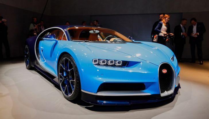 Bugatti Chiron - Foto 3 di 23