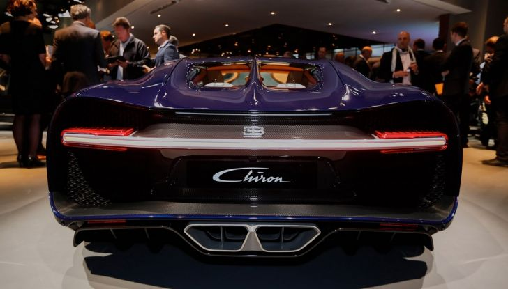 Bugatti Chiron - Foto 8 di 23
