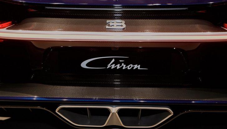Bugatti Chiron - Foto 9 di 23