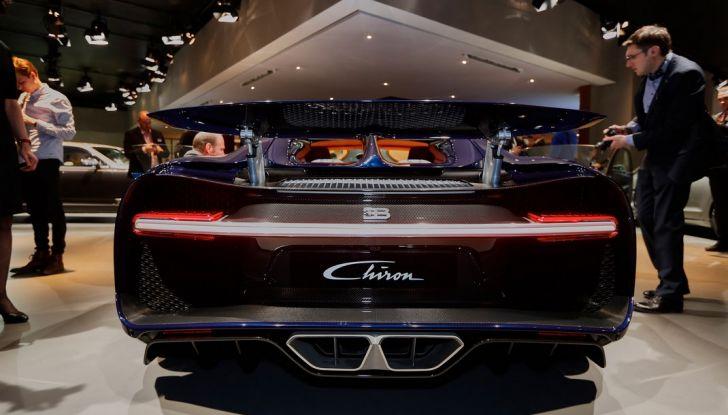 Bugatti Chiron - Foto 14 di 23