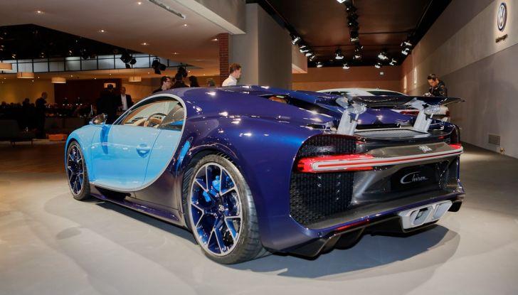 Bugatti Chiron - Foto 15 di 23