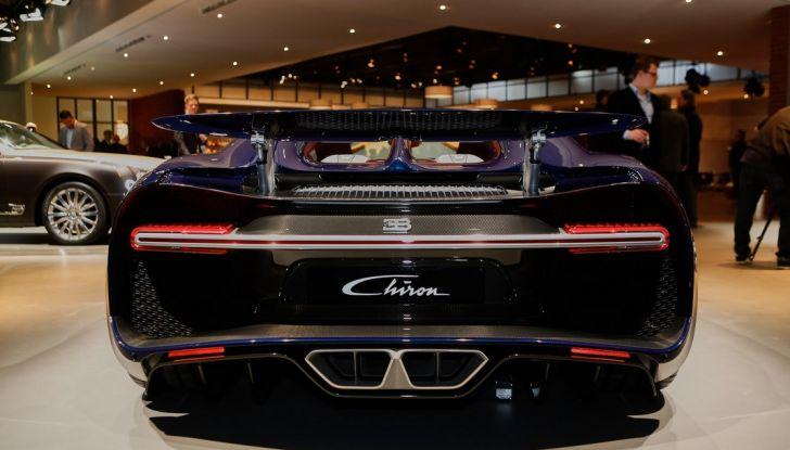 Bugatti Chiron - Foto 16 di 23