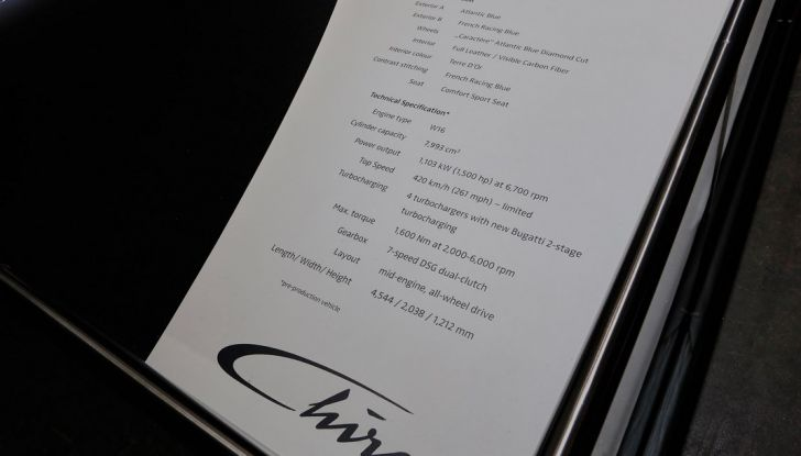 Bugatti Chiron - Foto 2 di 23