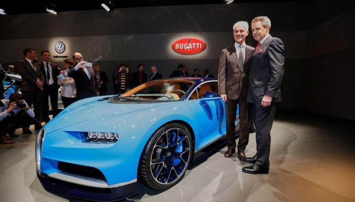 Bugatti Chiron live ginevra 2016