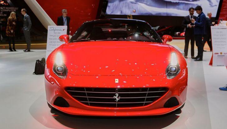 Ferrari California T live Ginevra 2016