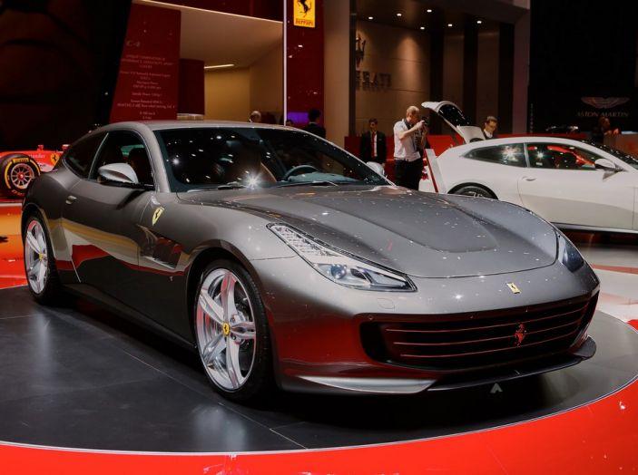 Ferrari GTC4 Lusso live Ginevra 2016