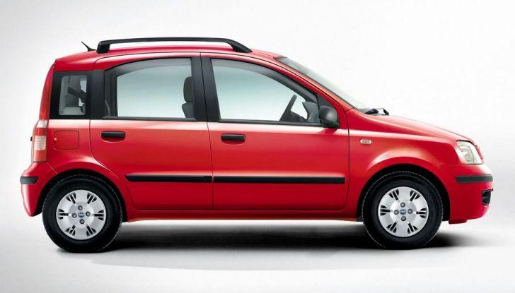 Fiat Panda, auto per neopatentati, fiancata.