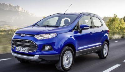 Ford EcoSport: il Suv compatto arriva in Europa
